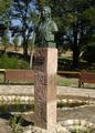 Real Jardín Botánico Juan Carlos I (RPS 13-10-2007) busto de Linneo.png