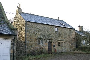 Bastle house - Rebellion House, High Callerton - a simple bastle house