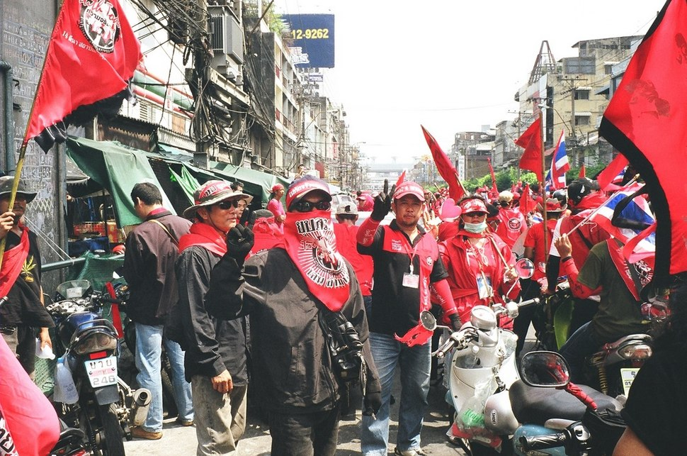 Red Shirt Army, Bangkok, Thailand.jpg