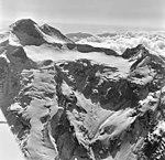 Redoubt Volcano, mountain glacier with bergschrund, August 26, 1969 (GLACIERS 6781).jpg
