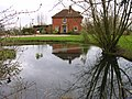 Reflection from across a moat - geograph.org.uk - 339826.jpg