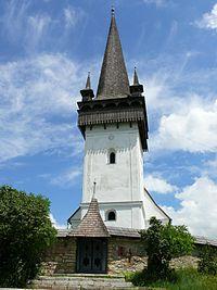 Reformed church in Izvoru Crisului, Cluj County, Romania.jpg