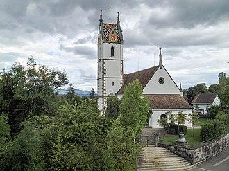 Maur, Switzerland - Image: Reformierte Kirche Maur ZH