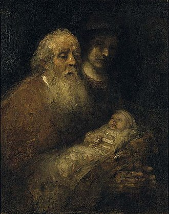 Nationalmuseum - Image: Rembrandt Simeon's Song of Praise