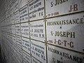 Remembrance tiles Cathedral of St. Vincent de Paul, Tunis 01.jpg