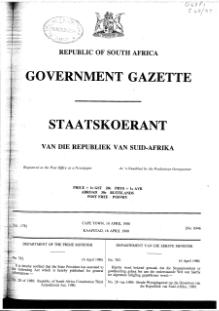 Republic of South Africa Constitution Third Amendment Act 1980.djvu