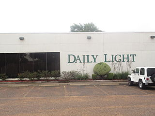 <i>Waxahachie Daily Light</i> newspaper published in Waxahachie
