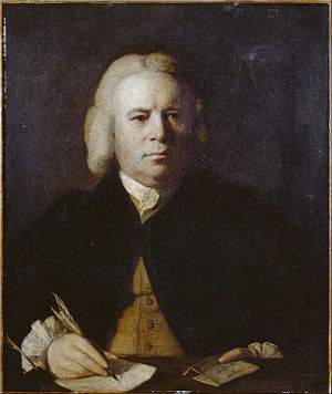 Robert Dodsley - Robert Dodsley by Reynolds, 1760.