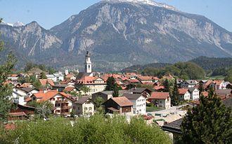 Rhäzüns - Image: Rhäzüns Dorf