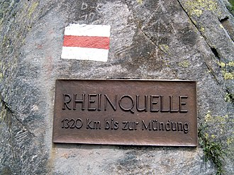 Tomasee - Image: Rhine source