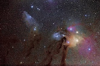 Rho Ophiuchi cloud complex - Image: Rho Ophiuchi Cloud Complex widefield