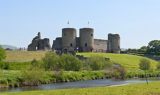 Rhuddlan Castle - Image: Rhuddlan Castle, May 2012