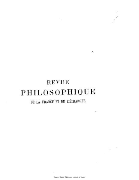 File:Ribot - Revue philosophique de la France et de l'étranger, tome 13.djvu