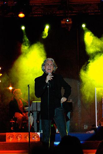 Riccardo Fogli - Image: Riccardo Fogli, 2009, Basilicata