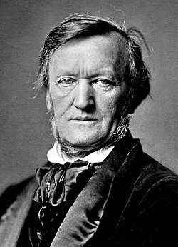 Portrait de Richard Wagner (source: Wikipedia)