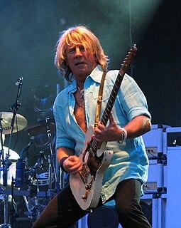 Rick Parfitt British musician