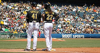 Rick Sofield - Sofield with the Pittsburgh Pirates