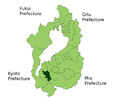 Ritto in Shiga Prefecture.png