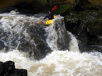 River Tavy - Kayaking on the Tavy.