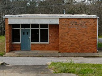 River View, Alabama - The now-defunct post office (ZIP code: 36872) at River View, Alabama.