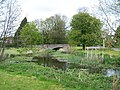 River and bridge, West Dean - geograph.org.uk - 1824650.jpg