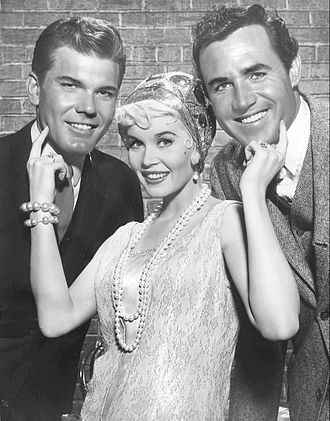 The Roaring 20's (TV series) - Donald May (Pat Garrison), Dorothy Provine (Pinky Pinkham), and Rex Reason (Scott Norris)