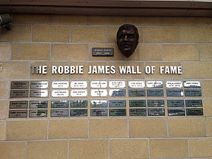 Robbie James - The Robbie James Wall of Fame, April 2014