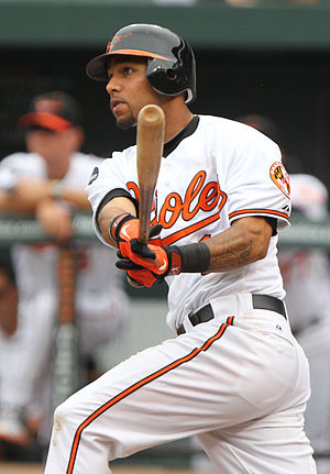 Robert Andino - Andino with the Baltimore Orioles in 2011