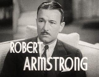 Robert Armstrong (actor) American actor