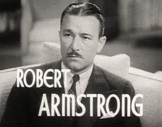 Robert Armstrong (actor) - Armstrong in The Ex-Mrs. Bradford (1936)