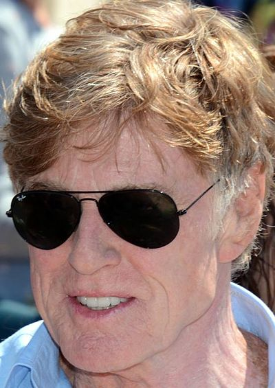 Robert Redford, American actor and film director