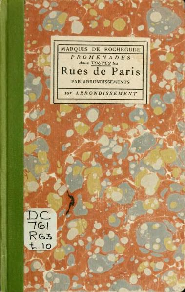 File:Rochegude - Promenades dans toutes les rues de Paris, 10.djvu