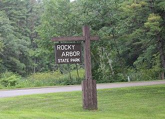 Rocky Arbor State Park - Image: Rocky Arbor State Park Wisconsin