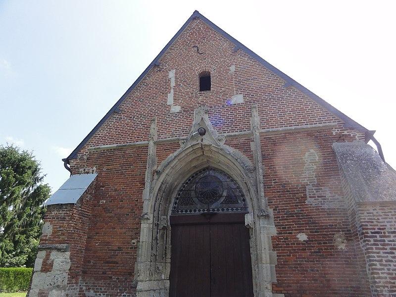 Rogny (Aisne) église
