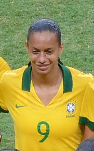 Rosana dos Santos Augusto - At the 2013 Torneio Internacional de Brasília