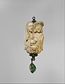 Rosary Terminal Bead with Lovers and Death's Head MET DT357629.jpg