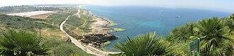 Rosh HaNikra grottoes - Image: Rosh Hanikra panorama