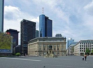 Four (Frankfurt) Mixed-use skyscraper project in Frankfurt, Germany
