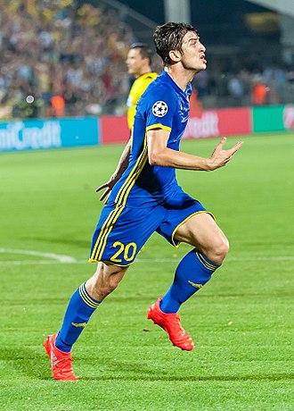 Sardar Azmoun - Azmoun in match against Ajax in 2016