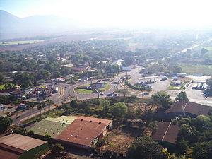 Chinandega - Entrance to the city of Chinandega.