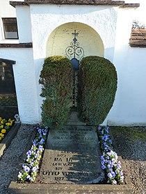 Rottach-Egern — St. Laurentius — Friedhof — Grabstätte Karl Alexander von Müller.jpg