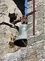 Rouffignac-Saint-Cernin église St Cernin cloche.JPG