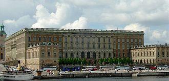 Olof Tempelman - Royal Palace, Stockholm