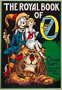 Capa de The Royal Book of Oz.