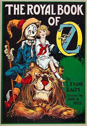 The Royal Book of Oz - Image: Royal book cover