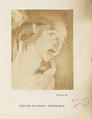 Rubens sketch; Demoniaque. Planche XL. Wellcome L0074960.jpg