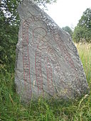 Runic inscription on stone -200 in county Uppland Sweden.jpg