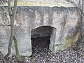 Rupp Hill Conservation Area. Concrete structure, entrance. - Budapest.JPG
