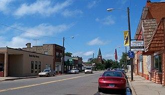 Rush City, Minnesota - Downtown Rush City