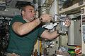 Russian cosmonaut Maxim Suraev ISS022-E-036262 (21 Jan. 2010).jpg